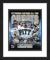"NCAA Pittsburgh Panthers 'All Time Greats' 18"" x 22"" Sports Photograph"