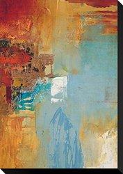 "Aqua Illusion 2 by Gabriela Villarreal Stretched Canvas Print 22"" x 15"""