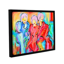 ArtWall Susi Franco's The Consensus Gallery Wrapped Floater-Framed Canvas, 14 by 18""