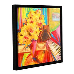 Franco's Just Before Dinner Gallery Wrapped Floater-Framed Canvas - 18x18""