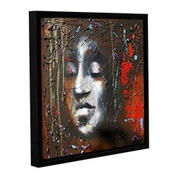 """ArtWall Susi Franco's Last Thoughts Gallery Wrapped Floater-Framed Canvas - 18"""" X 18"""""""