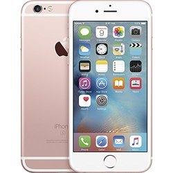 Apple iPhone 6S 16GB No-Contract for AT&T - Rose Gold (MKRF2LL/A)