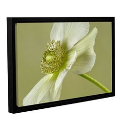 Cora Niele's Anemone Gallery Wrapped Floater Framed Canvas - 16x24""