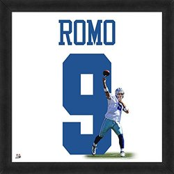 "NFL Dallas Cowboys Tony Romo 20"" x 20"" Player Uniframe"