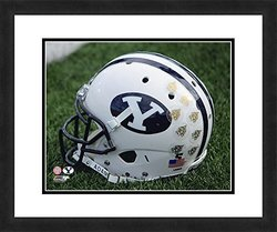 "NCAA BYU Cougars Beautifully Framed Sports Photograph - 18"" x 22"""