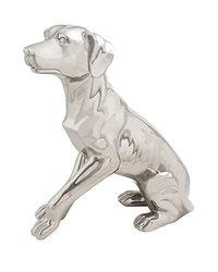 "Deco 79 Ceramic Dog Sculpture - 16"" X 18"""