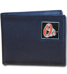 Baltimore Orioles Leather Bi-fold Wallet