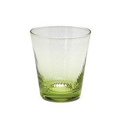 Impulse Roma Rocks Glass, Green, Case of 32