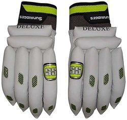 Ss Boy's Deluxe Batting Gloves Left Hand - White - 1 Pair