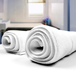 Utopia Towels Ringspun Cotton Floor Mat - White - 2-Pack