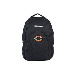 NFL Chicago Bears DraftDay Backpack - Black - Size: 18-Inch