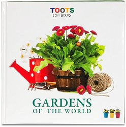 Pavilion Gift Company 96 Pages Toots Gift Book, 10-Inch, Gardens of The World Lifestyle