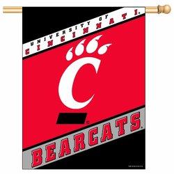 "WinCraft NCAA Cincinnati Bearcats 27"" x 37"" Vertical Flag"
