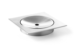 Zack Xero Brushed Stainless Steel Soap Dish