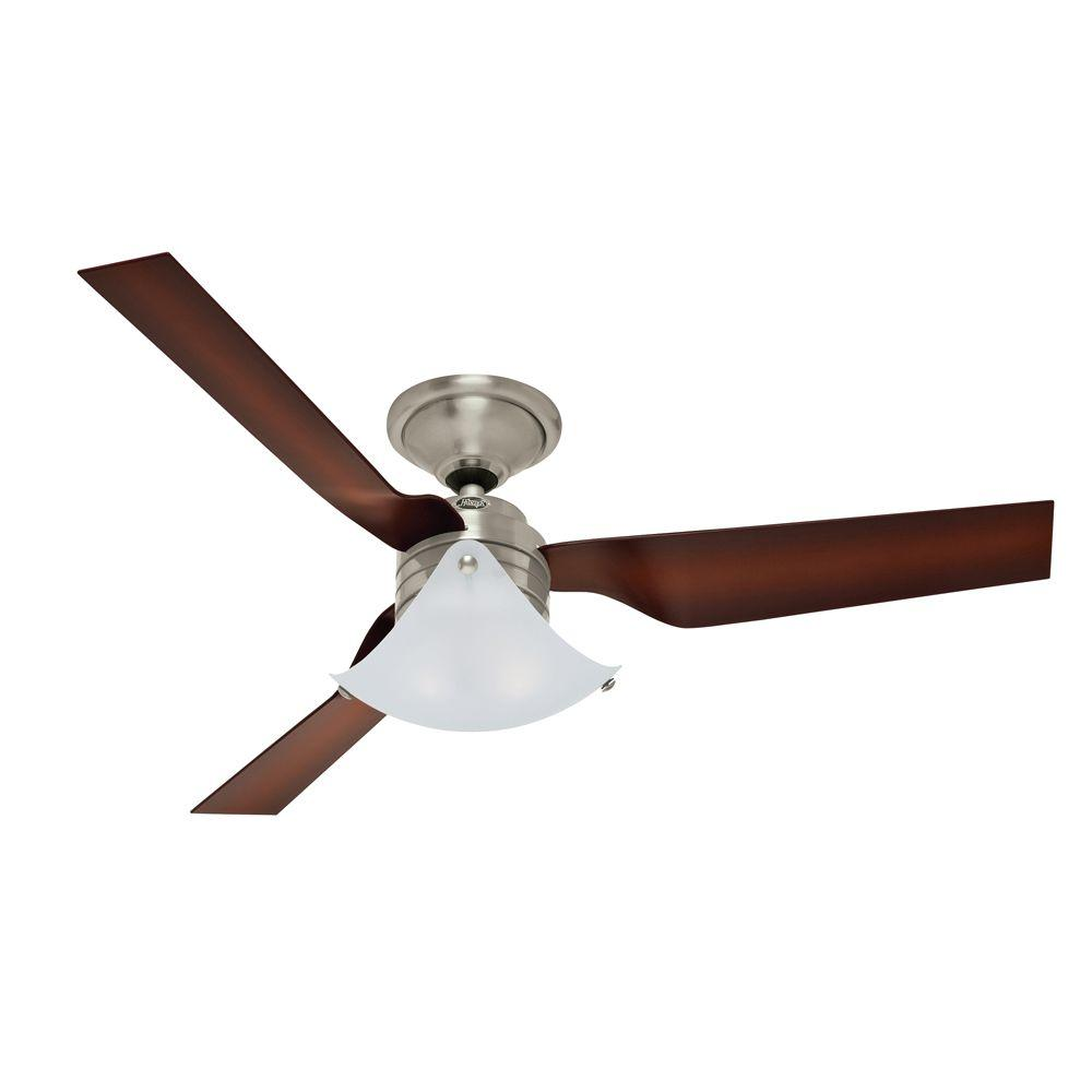 ... Hunter 59012 Windspan 52-inch Indoor Ceiling Fan - Brushed Nickel ...