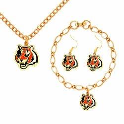 NFL Cincinnati Bengals Jewelry Set
