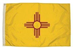 Independence Flag Nylon New Mexico Flag - 3 x 5'
