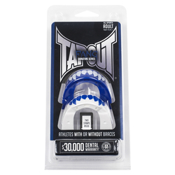 TapouT Youth Special Edition Fang Mouth Guard - Blue/White
