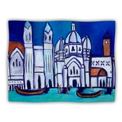 "Kess InHouse Theresa Giolzetti ""Venice"" Fleece Blanket, 60 by 50-Inch"