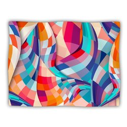 """Kess InHouse Danny Ivan """"Versicolor"""" Blanket, 60 by 50-Inch"""