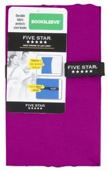 Five Star Booksleeve, 5.38 x 10 x .69 Inches, Purple (72524)