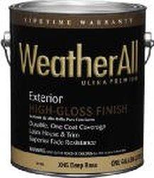 True Value XHGD-QT Premium WeatherAll Oil Based House Paint Deep Base, 1-Quart