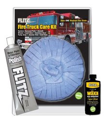 Flitz FI 31510 Mixed Fire Truck Polishing Care Kit