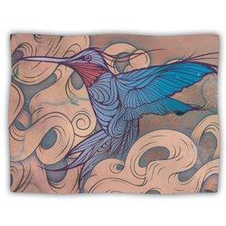 "Kess InHouse Mat Miller ""The Aerialist"" Fleece Blanket, 60 by 50-Inch"