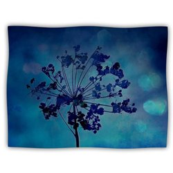 "Kess InHouse Robin Dickinson ""Grapesiscle"" Fleece Blanket, 60 by 50-Inch"