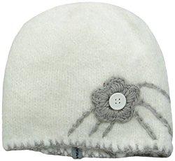 FU-R Women's Flo-Beam Lightweight Hand Knit Beanie, White, One Size