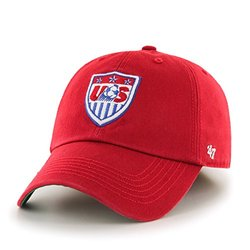 World Cup Soccer United States Franchise Fitted Hat, XX-Large, Red