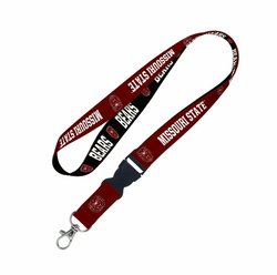 NCAA Missouri State Bears Lanyard with detachable buckle