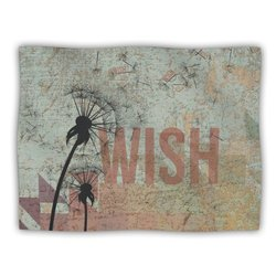 "Kess InHouse KESS Original ""Wish"" Fleece Blanket, 60 by 50-Inch"