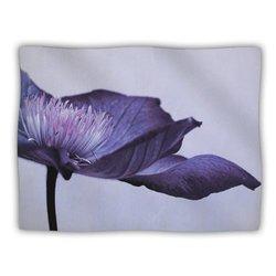 "Kess InHouse Iris Lehnhardt ""Indigo Purple Sky"" Blanket, 60 by 50-Inch"