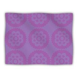 "Kess InHouse Nicole Ketchum ""Moroccan Lilac"" Fleece Blanket, 60 by 50-Inch"