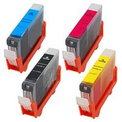 Amsahr CLI221 Compatible Replacement Canon Ink Cartridges