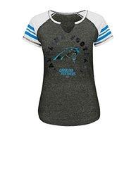 VF LSG NFL Women's T-Shirt - Charcoal Blurry/White/Black - Size: X-Large