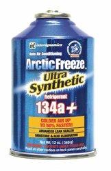 12 Cans R-134a Arctic Freeze AC Refrigerant