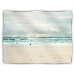 "Kess InHouse Sylvia Cook ""Flight"" Fleece Blanket, 60 by 50-Inch"