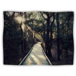 "Kess InHouse Robin Dickinson ""Dream Worthy"" Fleece Blanket, 60 by 50-Inch"