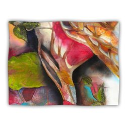 "Kess InHouse Kristin Humphrey ""Glimpse"" Fleece Blanket, 60 by 50-Inch"