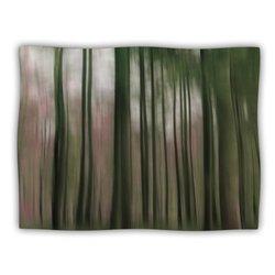 "Kess InHouse Alison Coxon ""Forest Blur"" Blanket, 60 by 50-Inch"