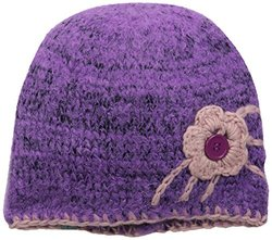 Turtle Fur Women's Flo-Beam Beanie, Iris, One Size
