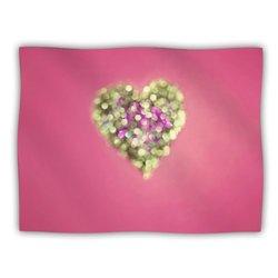 "Kess InHouse Beth Engel ""Make Your Love Sparkle"" Blanket, 60 by 50-Inch"