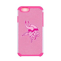 NFL Minnesota Vikings Football Pebble Grain Feel iPhone 6 Case, Pink