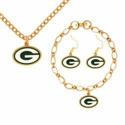 NFL Green Bay Packers Jewelry Set