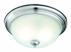 Thomas Lighting 2-Light Brushed Nickel Ceiling Flushmount (SL869278)