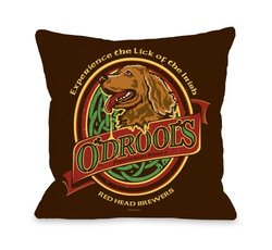 Bentin Pet Decor Odrools Pillow, 20 by 20-Inch