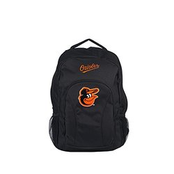 MLB Baltimore Orioles DraftDay Backpack, 18-Inch, Black