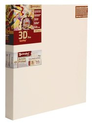 "Masterpiece 3D PRO 12 x 72"" Tahoe 10oz Triple Acrylic Primed Cotton Canvas"